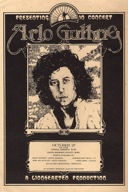 Alro Guthrie (Concert Poster)