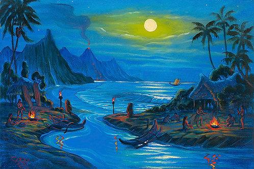 Early Hawaiian Village