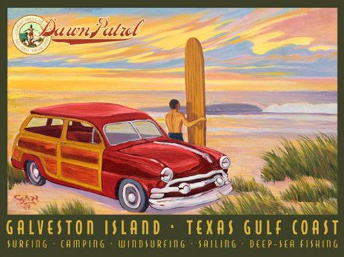 Galveston Island Dawn Patrol