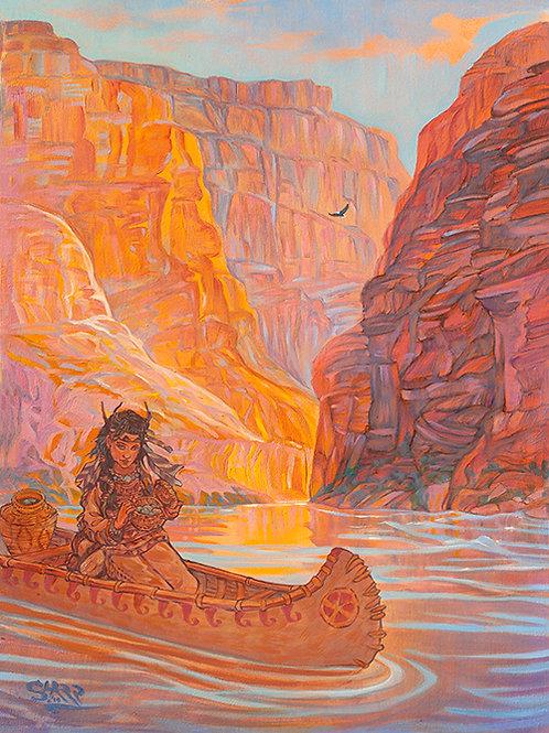 River Canyon Indian Girl