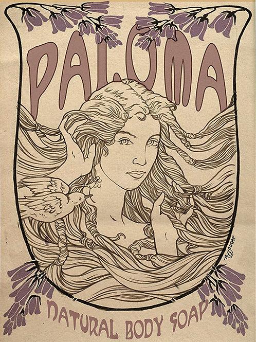 Paloma Soap Poster