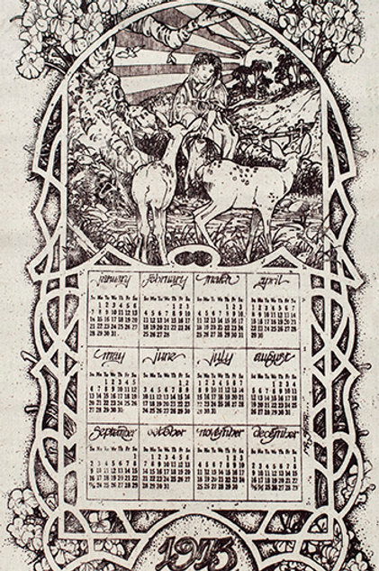 Child of Nature Calendar (Brotherhood of the Sun)