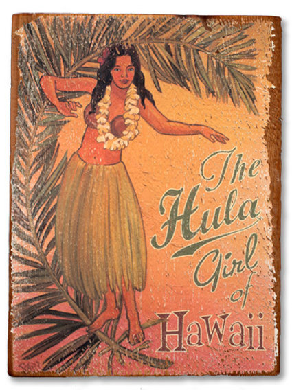 The Hula Girl