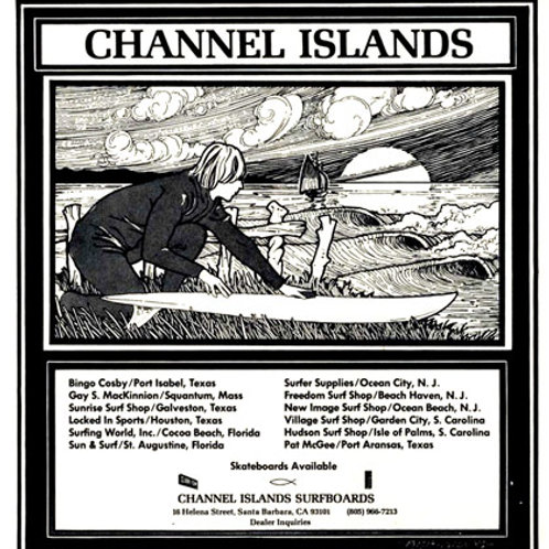 Channel Islands Surfer Mag Ad