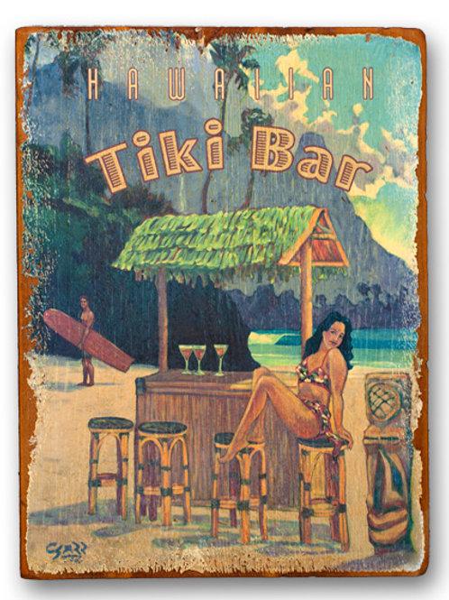 Hawaiian Tiki Bar