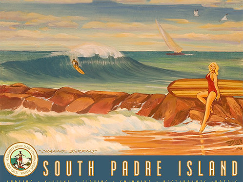 South Padre Island Channel Surfing