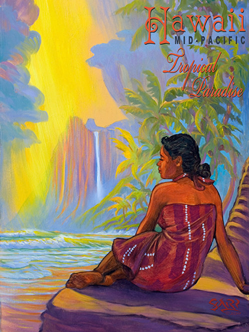 Tropical Paradise Exotic Hawaii Art Print