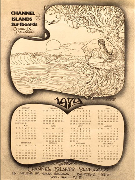 1979 Channel Islands Calendar