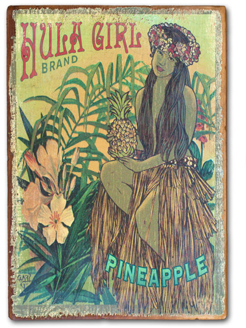 Hula Girl Brand Pineapple