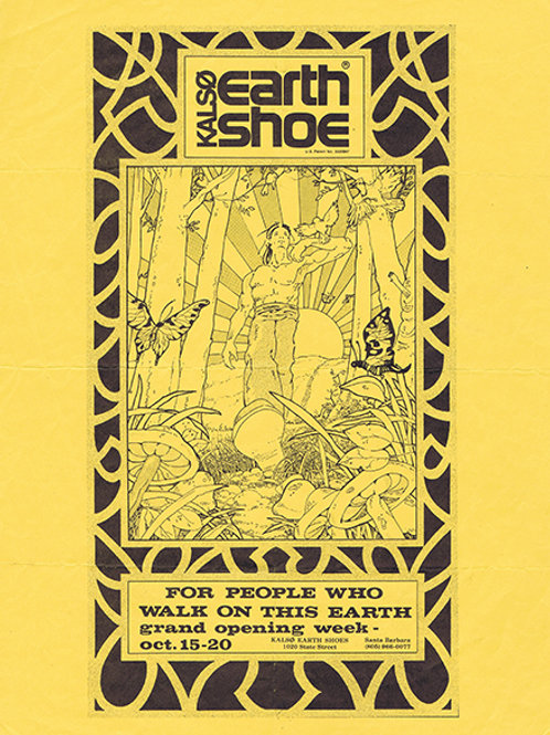 Earth Shoe Poster