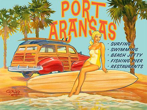 Port Aransas Bathing Beauty