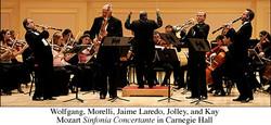 Mozart at Carnegie Hall