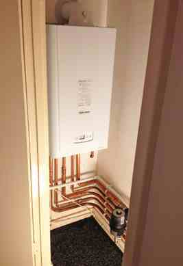 Boiler replacement in a Flat