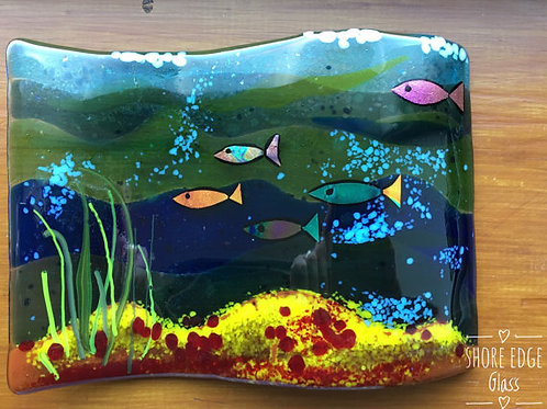 Under The Sea Curved Panel
