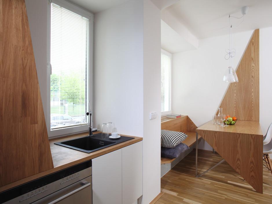 Proměna panelákové kuchyně