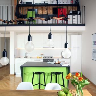 Rekonstrukce mezonetového bytu v podkroví