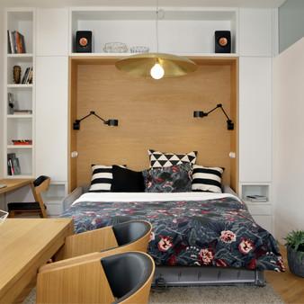 Rekonstrukce malého bytu na Kampě