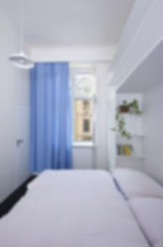 Interiér podkrovního bytu