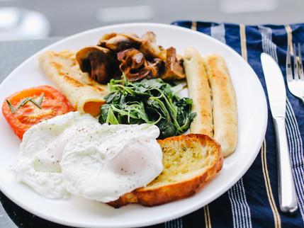 the perfect poached egg.