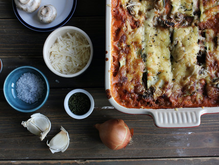 veggie lasagne recipe.