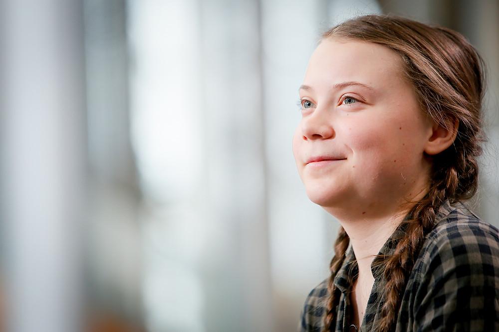 greta Thunberg / fully grown