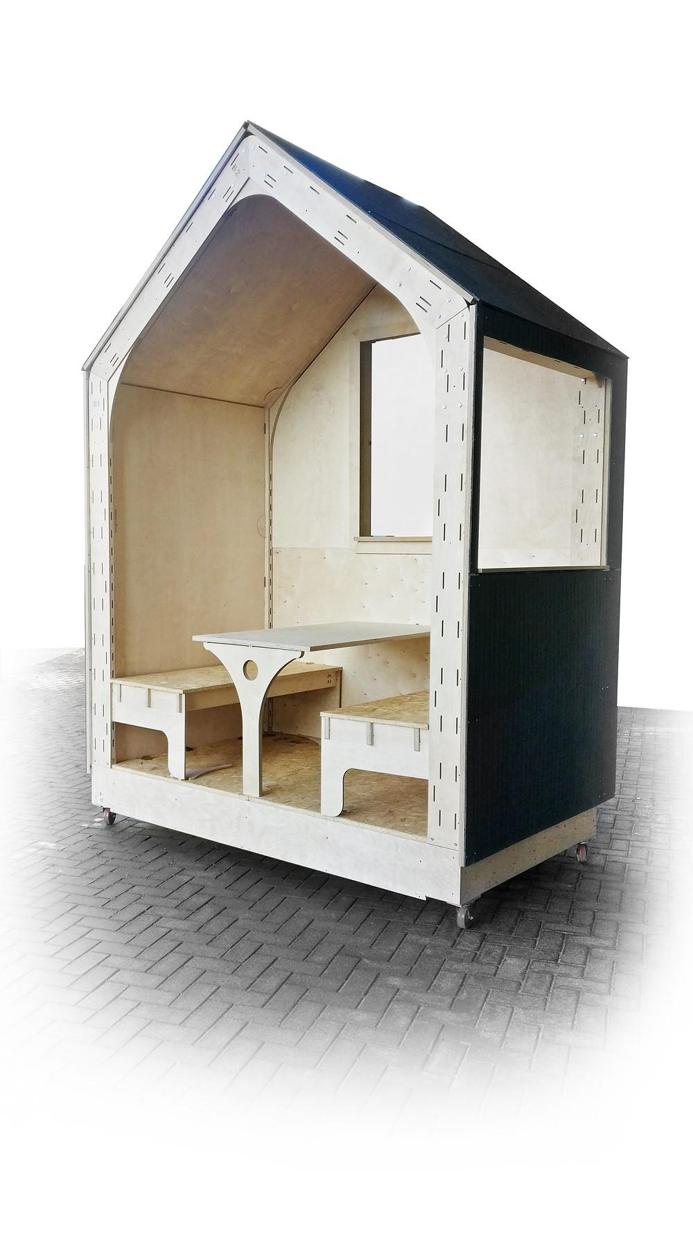 Digitally fabricated tiny home prototype