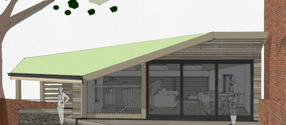 Fox Cottage - proposal to convert a basement garage to a new home