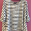Thumbnail: Hi lo striped tee