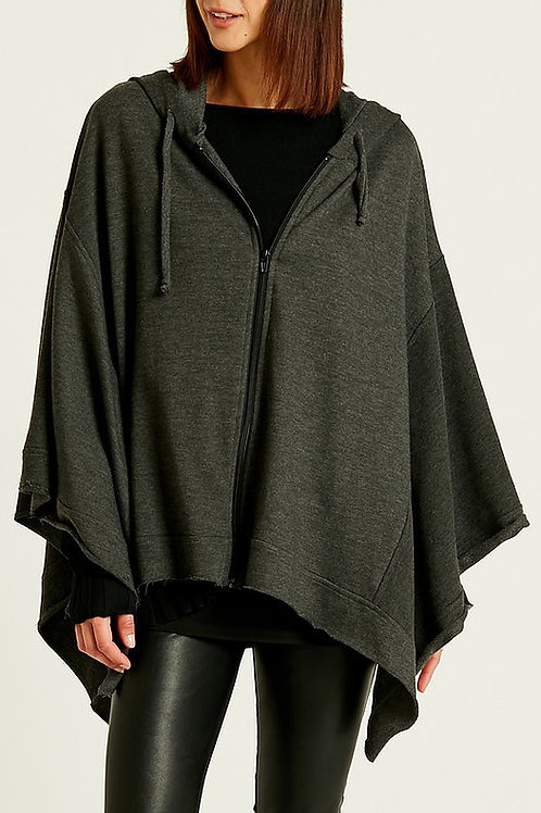 PLANET ZIPPED UP SWEATER