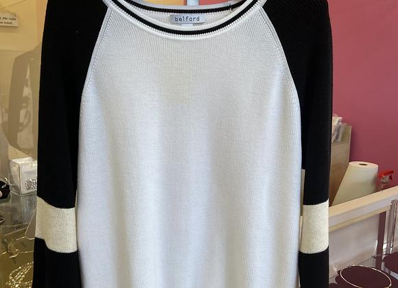 Belford baseball sweater