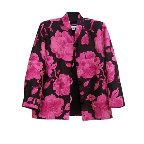 Caroline Rose Floral Print jacket