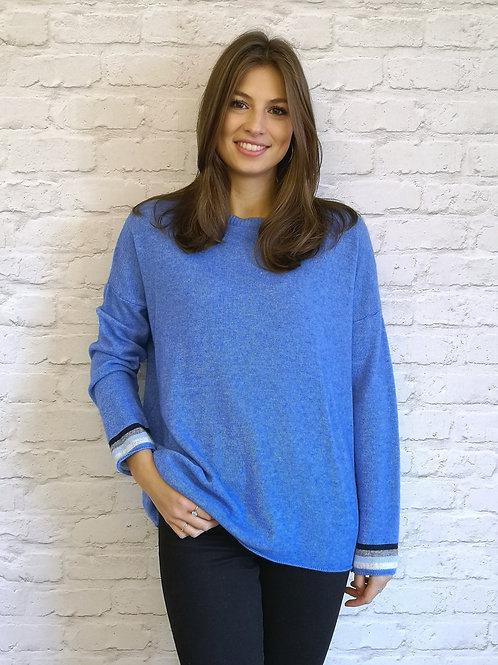 Back stripe Sweater