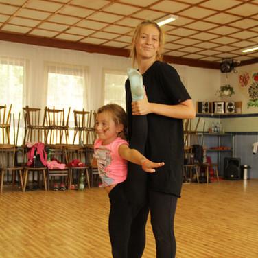 letní tanečně sportovní tábor