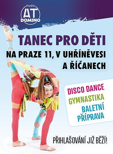 tanec pro děti v Říčanech a v Praze