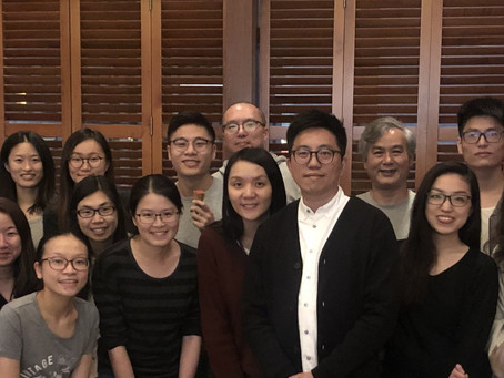 Annual Joint Lab Dinner with Carmen's team