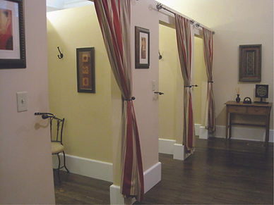Private fitting room at Your Perfect Fit in Boalsburg, Pennsylvania near State College