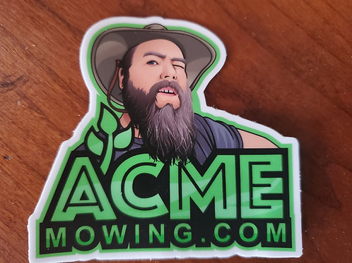ACME Old ManSticker