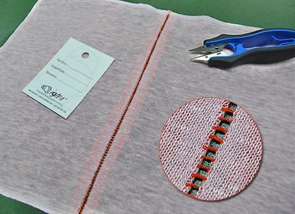 Open stitch sewing