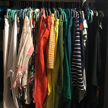 Just having a large closet full of cloth