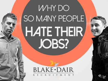 Why do so many people hate their jobs?