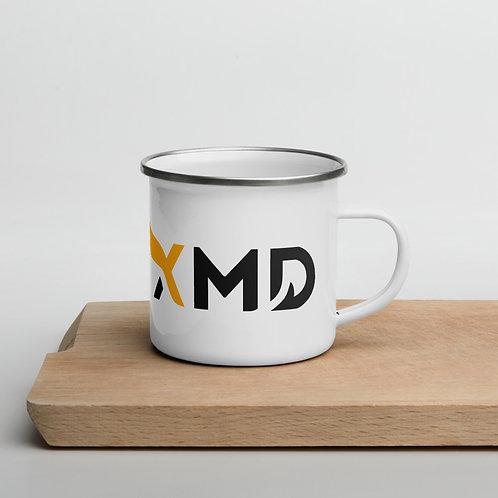 XMD 2 Sided with Logo - Enamel Mug