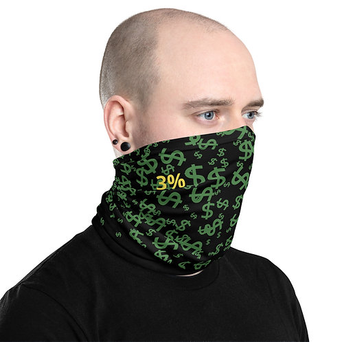 Neck Gaiter - Money Money Money 3%