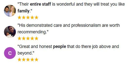 Google Reviews for Mory & Colliersmith 5 stars