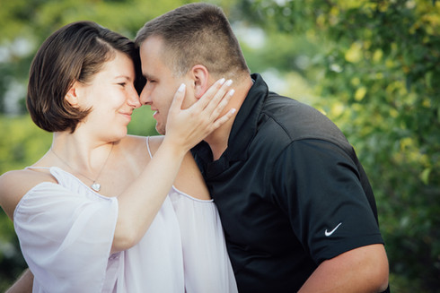 Courtney and William - Engagement Session