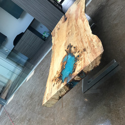 Silver Maple Coffee Table