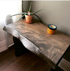 Canadian Maple Side Table