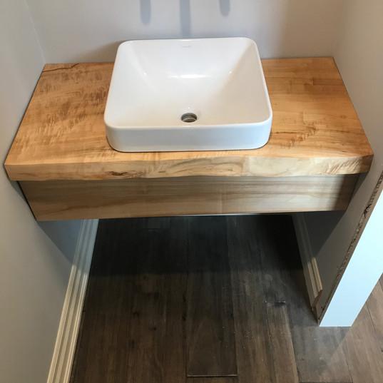 Weeping Willow Bathroom Countertop