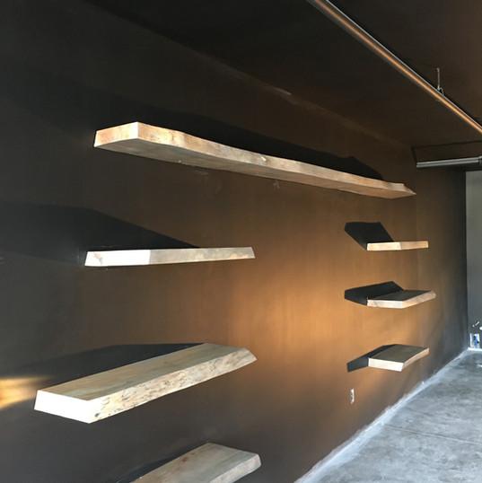 Canadian Maple Shelves