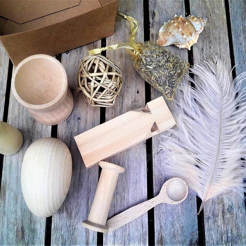 Wooden starter set