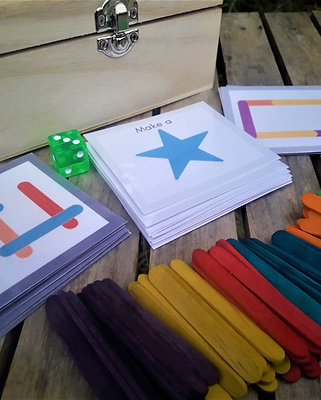 Make a shape educational game